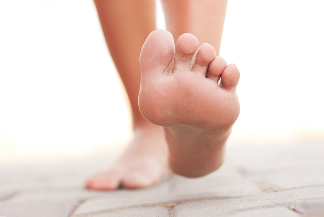 Diabetes Foot Care - An image of bare feet